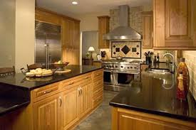 maple cabinets with granite countertops natural maple cabinets with black granite countertops www