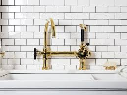 polished brass kitchen faucet kitchen 28 428080 pull kitchen faucet polished brass front