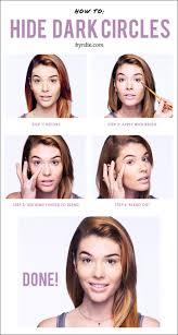 how to cover dark under eye bags in 4 easy steps byrdie com