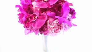 wedding flowers san diego san diego wedding florist fuschia bridal bouquet