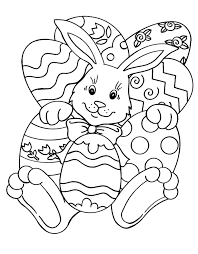 easter egg templates coloring free download