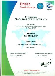 macaroni queen production pasta products