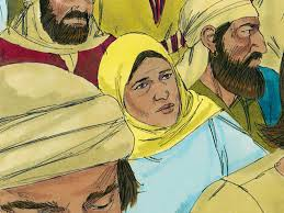 free bible images a woman who touches the hem of jesus u0027 garment