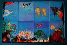 the coral reef dellavision arts