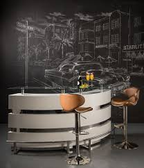 Modern Home Bar by Dorado Furniture For A Modern Home Bar With A Stool And Xenia Bar