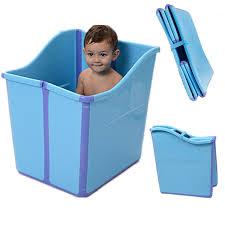si e bain b top qualité fold épaissie grand bébé baignoire enfants bain baril de