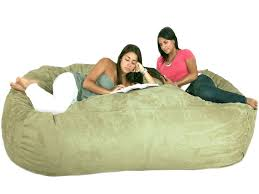 unique giant bean bag chairs for home design ideas with giant bean