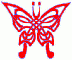 celtic knot butterfly tattoos sketch tattoomagz