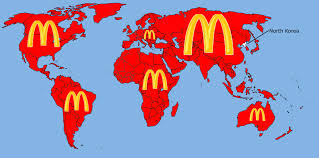 Us Maps Map Of Every Mcdonalds In Us Pic This Burger Map Of The Us Is