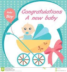 card new born baby boy royalty free stock photo image 31641325