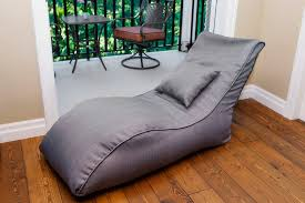 modern bean bag with white chairs family room modern and