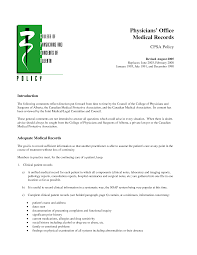 medical office cover letter best photos of medical office letter templates medical