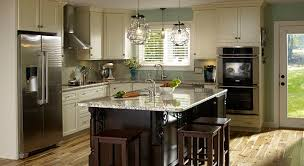 remodeled kitchens with islands kitchen facelift success story masterbrand