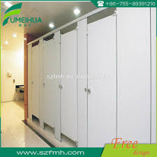 Solid Plastic Toilet Partitions Shopping Mall Toilet Partition Shopping Mall Toilet Partition