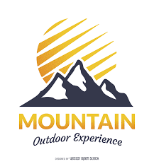 awesome yellow mountain logo 40 for best design ideas with yellow
