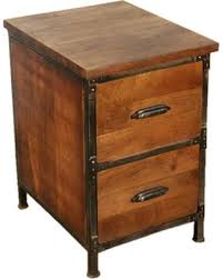 Rustic File Cabinet Deal On Y Decor Solid Wood 2 Drawer Handmade Rustic Filing