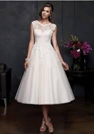 tea length cheap wedding dresses wedding gowns online from diydress