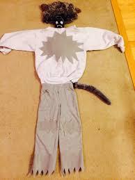 halloween wolf costume diy no sew wolf halloween costume motherhood support