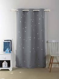 rideau occultant chambre bébé vertbaudet verdunkelungsvorhang für kinderzimmer in grau