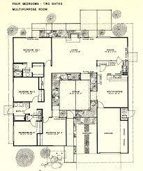 eichler floor plans joseph eichler floor plans 1000 images about b eichler floor plans
