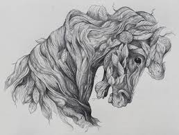 made of leaves horse tattoo design best tattoo designs