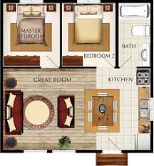 Small House House Plans 2 Bedroom House Plans 3d Google Search House Plans Pinterest