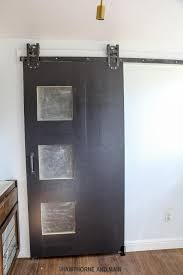 How To Install Barn Doors by How To Decide Diy Barn Door Hardware Or Purchase Hardware