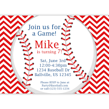3rd Birthday Invitation Cards Exclusive Baseball Birthday Party Invitations Theruntime Com