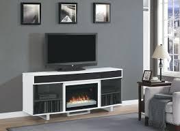 tv stand bright 72 new enterprise media mantel white electric