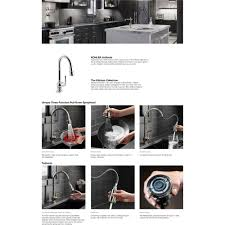 Kohler Evoke Kitchen Faucet by Kohler K 99261 Vs Artifacts Vibrant Stainless Steel Pullout Spray