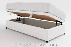 White Ottoman Bed White Beds White Upholstered Divan Metal Beds Next Uk