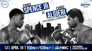 despite fighting in chris algieri u0027s backyard errol spence jr