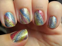 goose u0027s glitter incoco design strips swatch and review