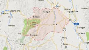 map of tabuk kalinga board member two others survive car fall in ravine