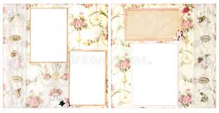scrapbook for wedding wedding scrapbook page 12 x 12 layout stock image image of book