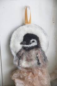schoodic arts festival needle felted ornaments workshop user
