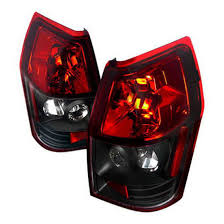 2008 dodge ram tail light bulb size 05 08 dodge magnum black housing red lens euro style tail lights