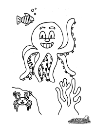 octopus coloring page free printable octopus coloring pages for kids animal place