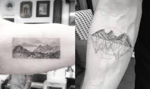 the ultimate guide to mountain tattoos 70 photos tattooblend