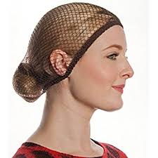aerborn hairnets what knot medium to hair net