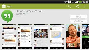 hangouts app android android app review hangouts the droid lawyer