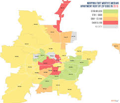 Austin Tx Zip Code Map by Here Are The Cheapest And Most Expensive Dallas Fort Worth Zip