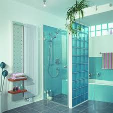 Painting Block Walls Interior Glass Block Shower Wall Love The Color Master Bath Pinterest