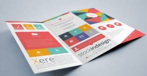 indesign templates free brochure invoice templates psd docx indd free downl and indesign tri fold