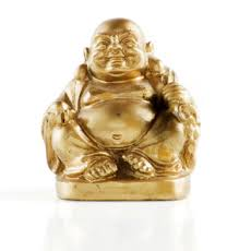 why does the laughing buddha a big belly