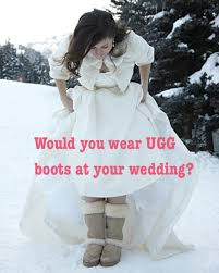 ugg s dress shoes would you wear ugg boots at your wedding