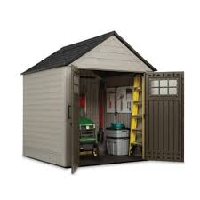 Suncast Resin Glidetop Outdoor Storage Shed by Amazon Com Rubbermaid 7 Ft X 7 Ft Big Max Storage Shed Great