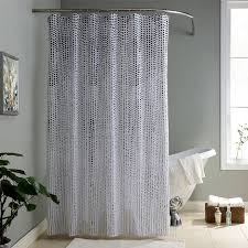 Simple Shower Curtains 1pcs 1 8 1 8m Polyster Black Dot Simple Bathroom Shower Curtain