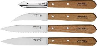 couteau de cuisine opinel coffret les 4 essentiels du cuisinier opinel gallazzini arts