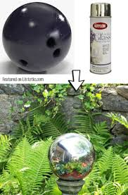 Cheap Gazing Balls Here Are 15 Brilliant Ways To Use Spray Paint Tiphero
